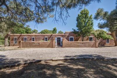 Corrales Single Family Home For Sale: 213 Camino Bajada