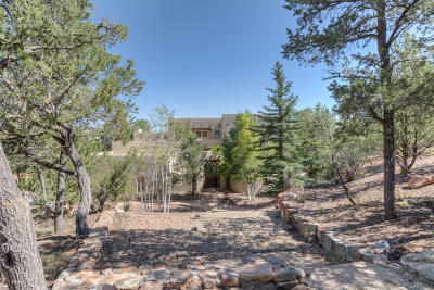 Tijeras, Cedar Crest, Sandia Park, Edgewood, Moriarty, Stanley Single Family Home For Sale: 36 Canyon Ridge