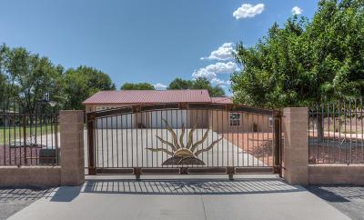 Valencia County Single Family Home For Sale: 1195 Calle Del Oro