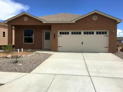 Valencia County Single Family Home For Sale: 307 Sunrise Bluffs