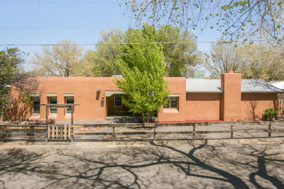 Corrales Single Family Home For Sale: 23 Academy Drive NW