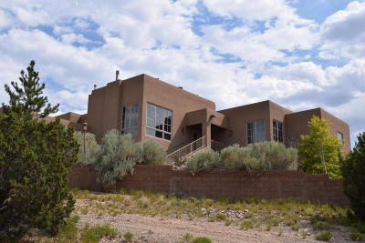 Placitas Single Family Home For Sale: 37 Loma Chata Road
