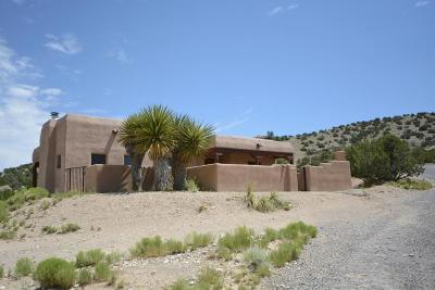 Placitas Single Family Home For Sale: 149 Camino De Las Huertas