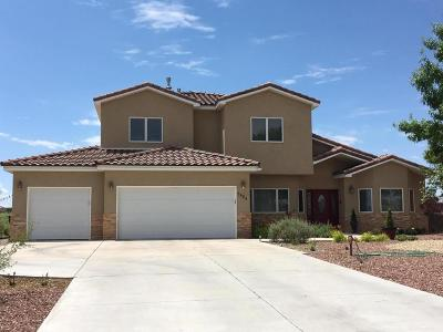 Rio Rancho Single Family Home For Sale: 6424 Kalgan Road NE