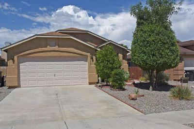 Rio Rancho Single Family Home For Sale: 6951 Skylar Drive NE