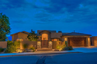 Rio Rancho Single Family Home For Sale: 308 Pinnacle Drive SE