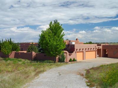 Tijeras, Cedar Crest, Sandia Park, Edgewood, Moriarty, Stanley Single Family Home For Sale: 136 Hortencia Road