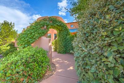 Los Ranchos Single Family Home For Sale: 8415 Rio Grande Boulevard NW