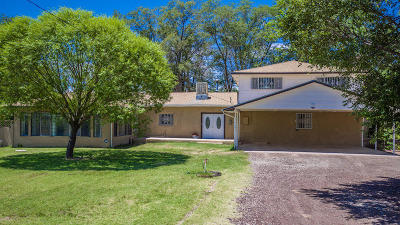 Valencia County Single Family Home For Sale: 59 Kendrick Road