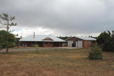 Tijeras, Cedar Crest, Sandia Park, Edgewood, Moriarty, Stanley Single Family Home For Sale: 10570 Nm Hwy 337