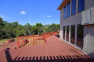 Tijeras, Cedar Crest, Sandia Park, Edgewood, Moriarty, Stanley Single Family Home For Sale: 26 Autumnwood Court