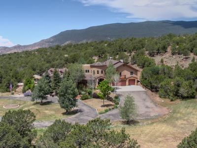 Tijeras, Cedar Crest, Sandia Park, Edgewood, Moriarty, Stanley Single Family Home For Sale: 82 Vallecitos Road
