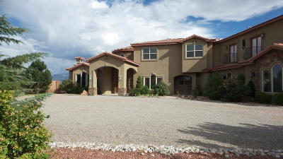 Albuquerque, Bernalillo, Corrales, Placitas, Rio Rancho Single Family Home For Sale: 5016 Frontier Road NE