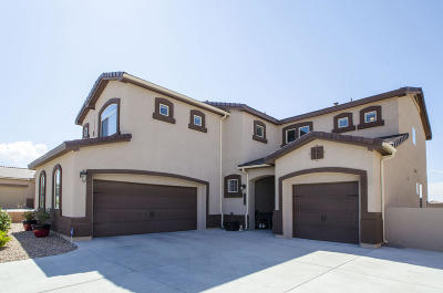 Rio Rancho Single Family Home For Sale: 2826 Arce Lane SE