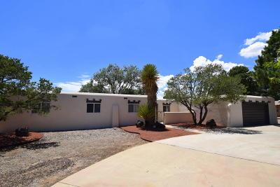 Albuquerque NM Single Family Home For Sale: $320,000