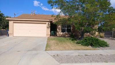 Rio Rancho Single Family Home For Sale: 6129 Wildflower Pass NE