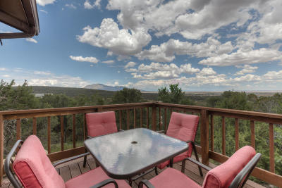 Tijeras, Cedar Crest, Sandia Park, Edgewood, Moriarty, Stanley Single Family Home For Sale: 65 Snowflake Trail