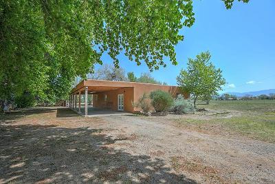 Valencia County Single Family Home For Sale: 17 Otero Road # A