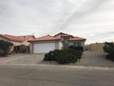 Valencia County Single Family Home For Sale: 139 Vissing Place