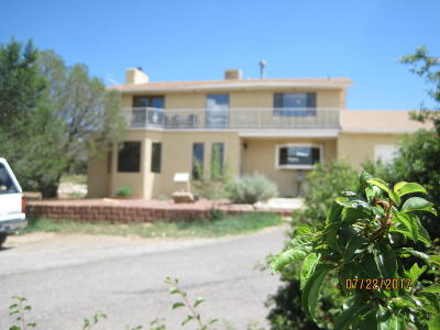 Tijeras, Cedar Crest, Sandia Park, Edgewood, Moriarty, Stanley Single Family Home For Sale: 4 Derecho Court