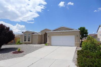 Rio Rancho Single Family Home For Sale: 7212 Pechora Court NE