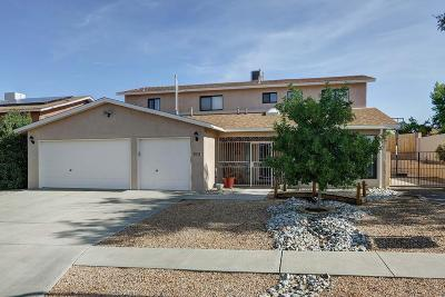 Albuquerque Single Family Home For Sale: 9629 Peralta Road NE
