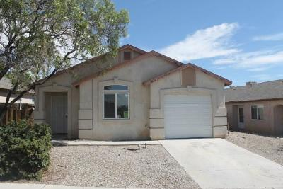 Albuquerque Single Family Home For Sale: 1626 Rolling Rock Place SW