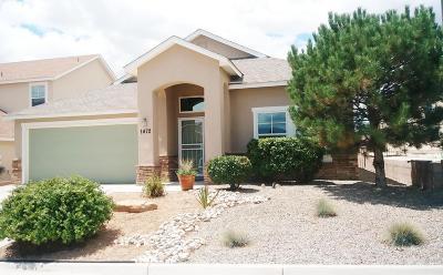 Rio Rancho Single Family Home For Sale: 1472 Reynosa Loop SE