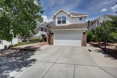 Albuquerque Single Family Home For Sale: 8019 Brittany Avenue NE