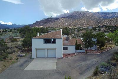 Sandia Heights Single Family Home For Sale: 337 White Oaks Drive NE