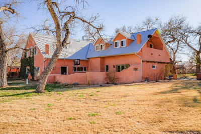 Corrales Single Family Home For Sale: 750 Dixon Road