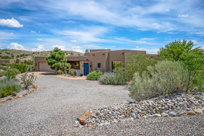 Placitas Single Family Home For Sale: 1 Seasons Circle