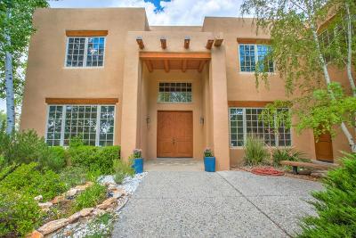 Albuquerque Single Family Home For Sale: 12251 Mountain Haze Rd NE