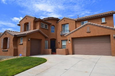 Rio Rancho Single Family Home For Sale: 35 Los Miradores Drive NE