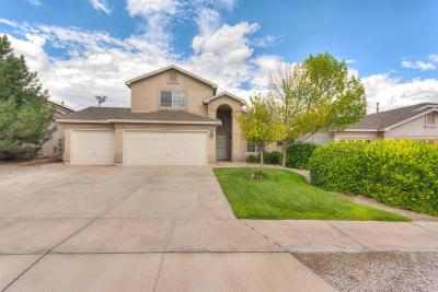 Rio Rancho Single Family Home For Sale: 3309 Hunters Meadows Circle NE
