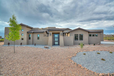 Corrales Single Family Home For Sale: 205 Tierra De Corrales