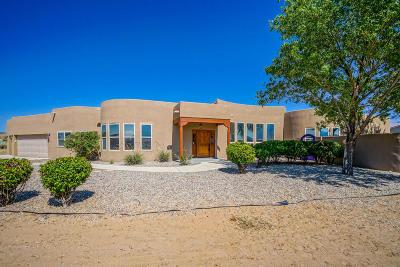 Corrales Single Family Home For Sale: 941 Camino De La Tierra