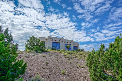 Placitas Single Family Home For Sale: 8 Calle Montoya