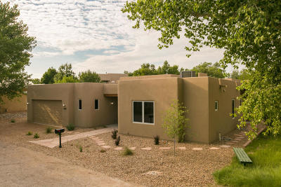 Albuquerque Single Family Home For Sale: 2716 Rio Encantado Court NW