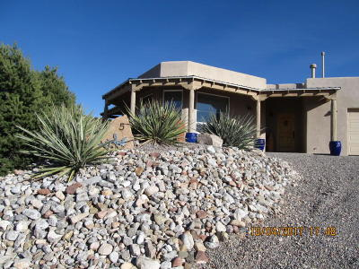 Placitas Single Family Home For Sale: 5 Luna Azul