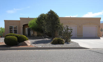 Rio Rancho Single Family Home For Sale: 2029 NE Clearwater Loop NE