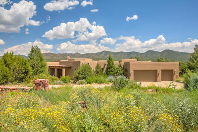 Tijeras, Cedar Crest, Sandia Park, Edgewood, Moriarty, Stanley Single Family Home For Sale: 3 Twin Arrow Drive