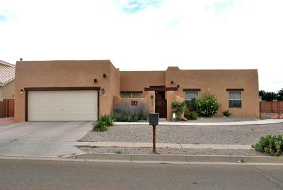 Albuquerque Single Family Home For Sale: 2300 La Vista Court NW