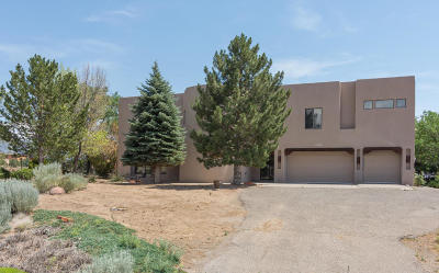 Single Family Home For Sale: 9800 Elena Drive NE