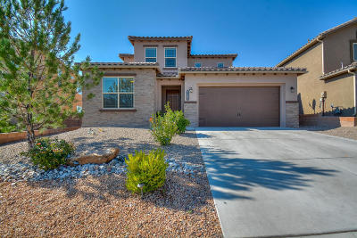 Rio Rancho Single Family Home For Sale: 7107 Wasilla Drive NE