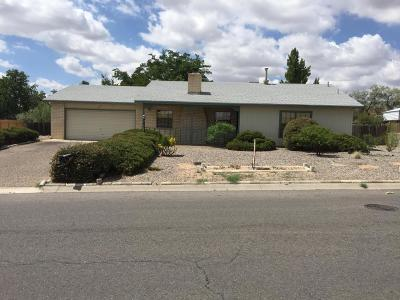 Albuquerque, Rio Rancho Single Family Home For Sale: 887 Iv0ry Rd SE Road