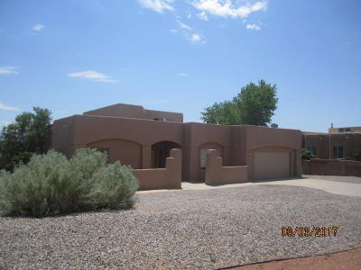 Rio Rancho Single Family Home For Sale: 6604 Nagoya Road NE