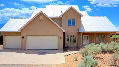 Rio Rancho Single Family Home For Sale: 7016 Tampico Road NE