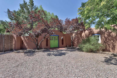 Albuquerque Single Family Home For Sale: 4824 Guadalupe Trail NW