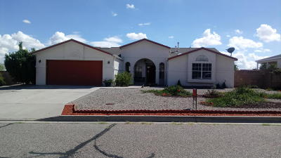 Rio Rancho Single Family Home For Sale: 7250 Pelona Court NE